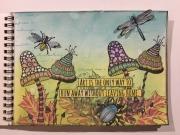 Art Journal laget av Melina, Sverige