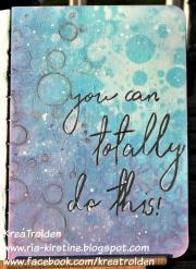 Art Journal laget av Ria-Kirstine, Danmark