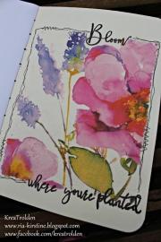 Art Journal-side laget av Ria-Kirstine, Danmark
