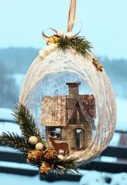 Julepynt laget av Kirsten, Norge