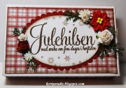 Sjokoladeeske dekorert av May Grethe, Norge