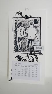 Kalender laget av Marit, Norge