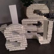 Bokstaver laget av Kathrine, Norge