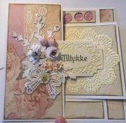 Kort laget av Tina, Danmark