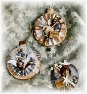 Julepynt laget av Kerstin, Tyskland