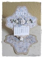 Kalender laget av Dorthe, Danmark