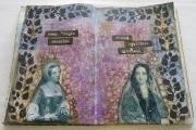 Art Journal-sider laget av Jytte, Danmark