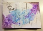 Art Journal-sider laget av Ria-Kirstine, Danmark