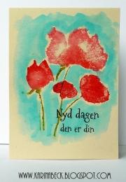 Kort laget av Karina, Danmark