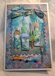 Kort laget av Susan, Danmark