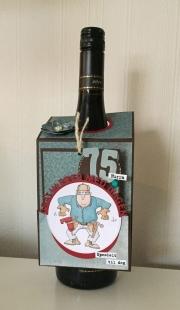 Flasketag laget av Bente-Heidi, Norge