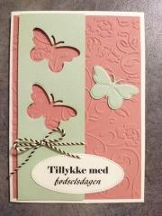 Kort laget av Maren-Elise, Danmark