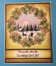 Kort laget av Yvett, Sverige