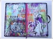 Art Journal-sider laget av Jorunn, Norge