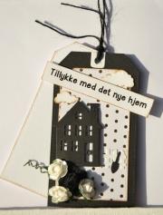 Kort laget av Eva, Danmark