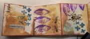 Art Journal-side laget av Susan, Danmark