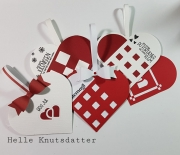 Hjerter laget av Helle, Norge