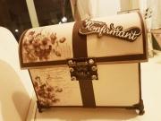 Kiste laget av Christina, Norge