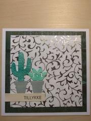 Kort laget av Karen Marie, Danmark