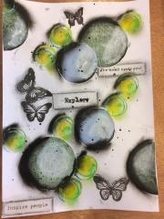 Art Journal-side laget av Pia, Danmark