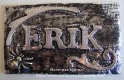 Dørskilt laget av Marit, Norge