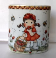 Kopp laget av Elisabeth, Brasil