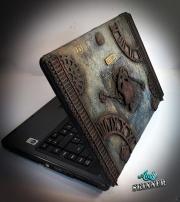 Laptop dekorert av Andy, England