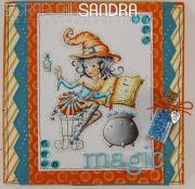 Kort laget av Sandra, Italia