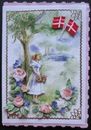 Kort laget av Maryann, Danmark