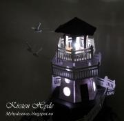 Fyrtårn laget av Kirsten, Norge
