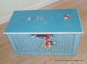 Kiste laget av Pia, Danmark