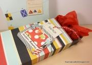 Gaveinnpakning laget av Pia, Danmark
