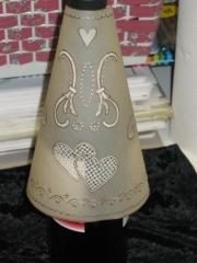 Flaskeskjuler laget av Maryann, Danmark