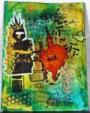 Art Journal-side laget av Jorunn, Norge