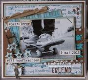 Kort laget av Anne-Lill, Norge