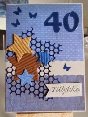 Kort laget av Ruth, Danmark