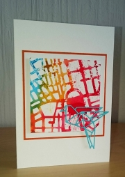 Kort laget av Susanne, Danmark