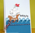 ClearlyBesotted_ Pirate Birthday card