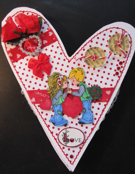 1 Front of the card