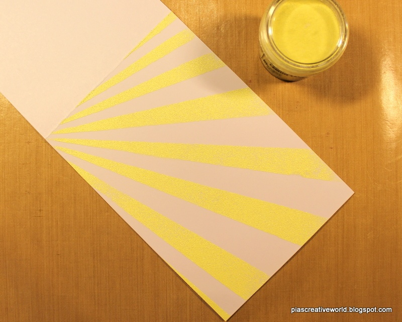 Stencils &; skabeloner – teknik 3: varm embossing | the paper