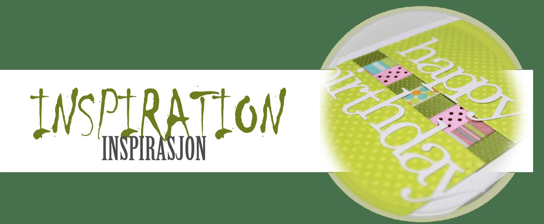 Inspiration - Inspirasjon