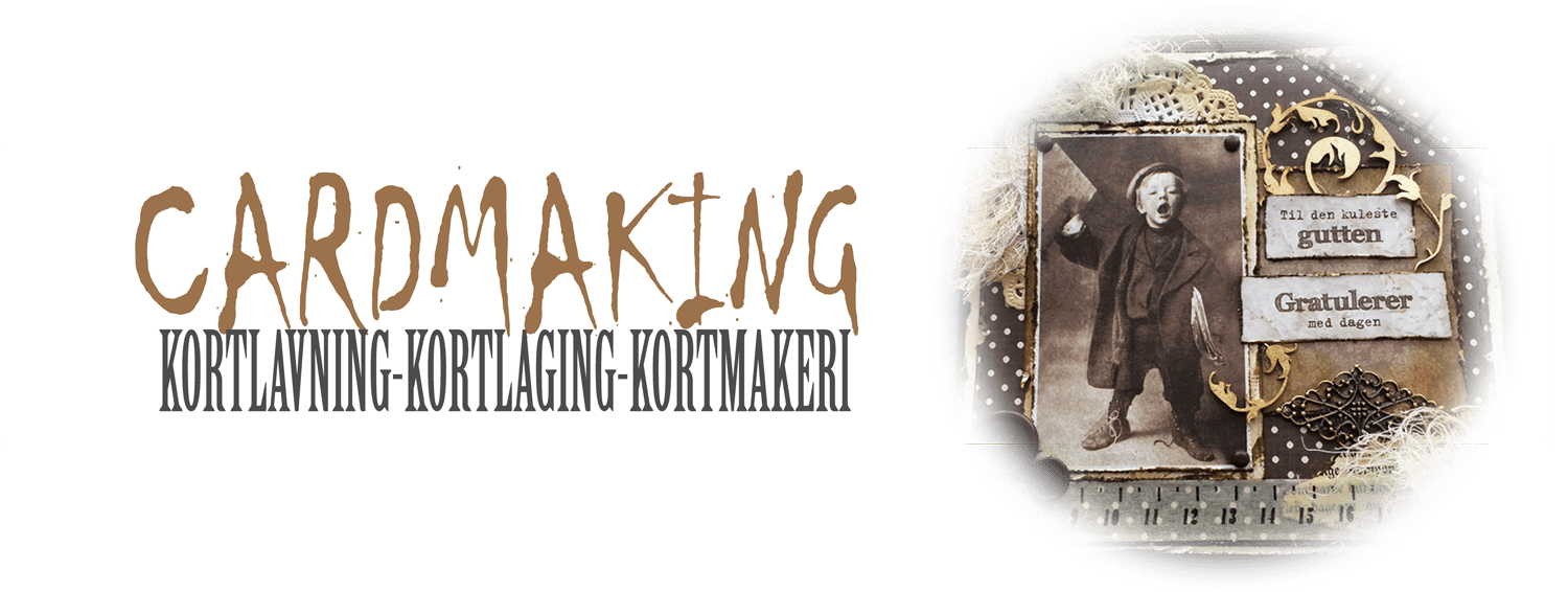 Cardmaking - Kortlaging
