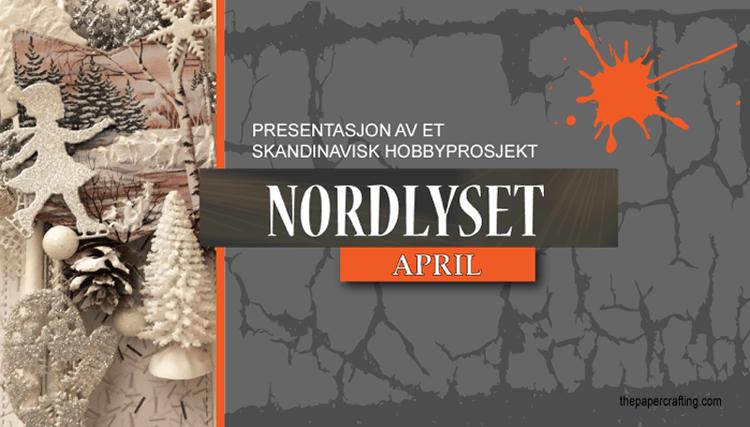 Nordlyset - april: Håndlagde pakkelapper og bordkort