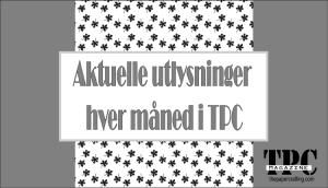 """""""AKTUELLE UTLYSNINGER"""""""